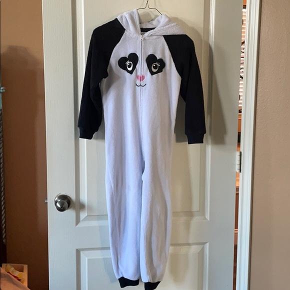 Panda Onsie Soft and Warm Girls 7/8